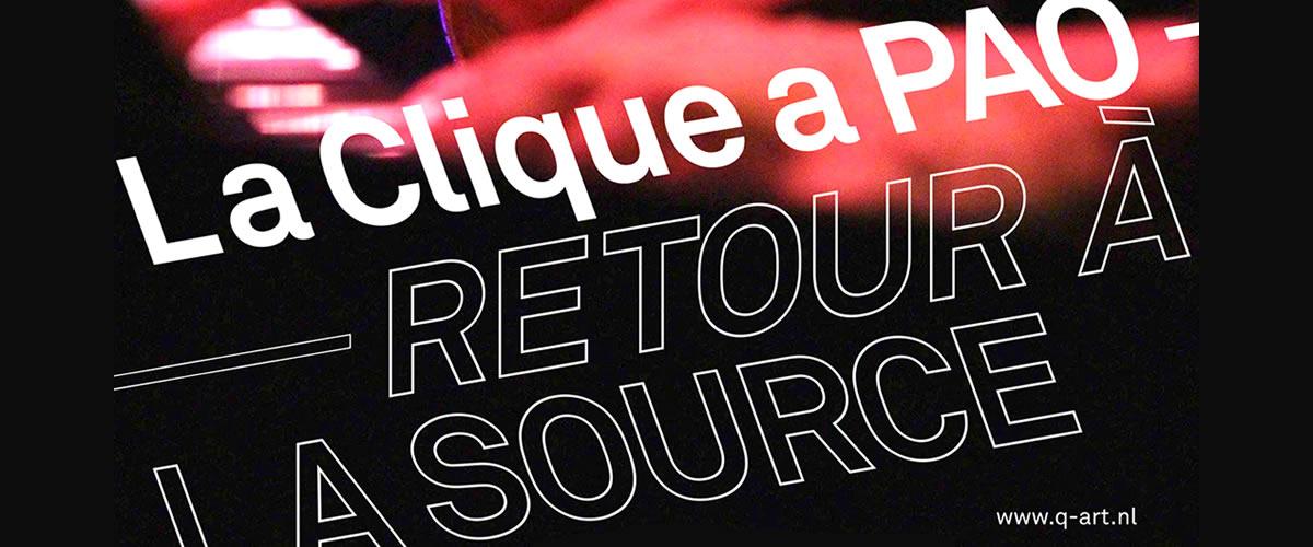 8-4-2017 / La Clique a PAO